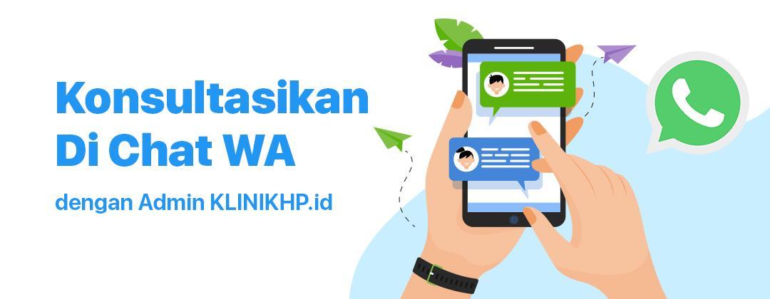 Konsultasikan Masalah Hp kamu Di Chat WA Admin KLINIKHP.id
